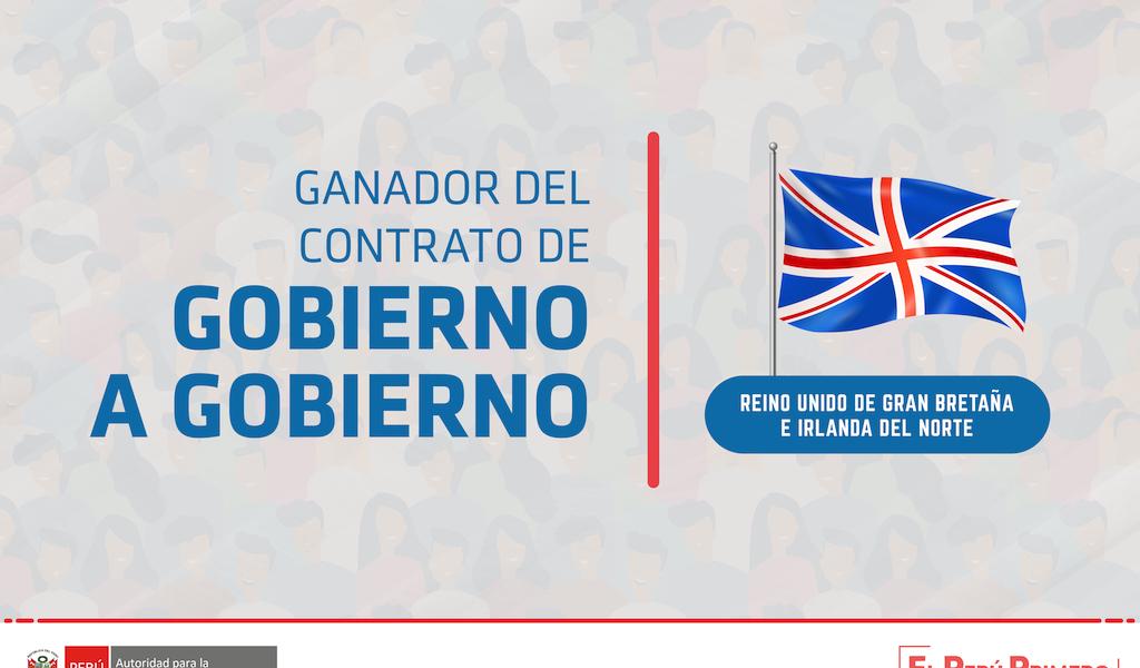 Reino Unido firmará convenio con el Perú para dar asistencia técnica en grandes obras de reconstrucción