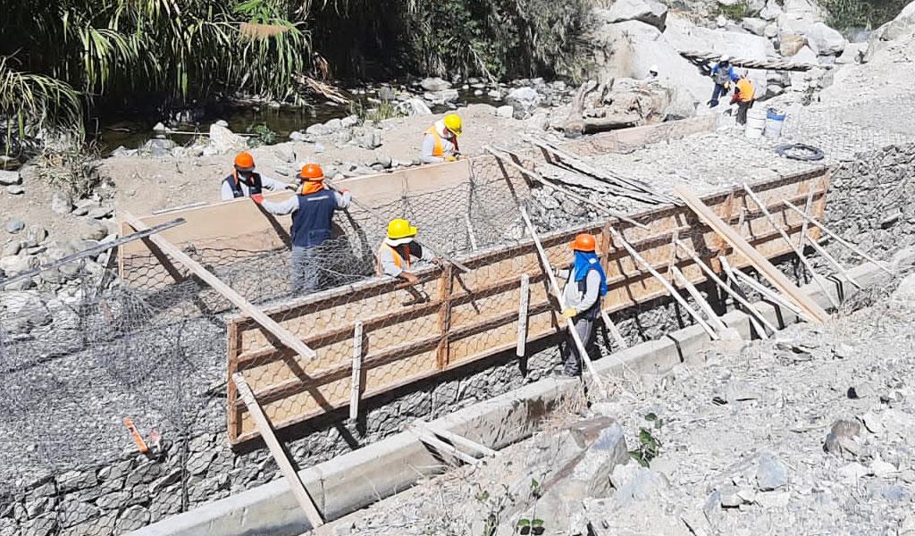 Reinician obras de reconstrucción en regiones de Ayacucho y Áncash