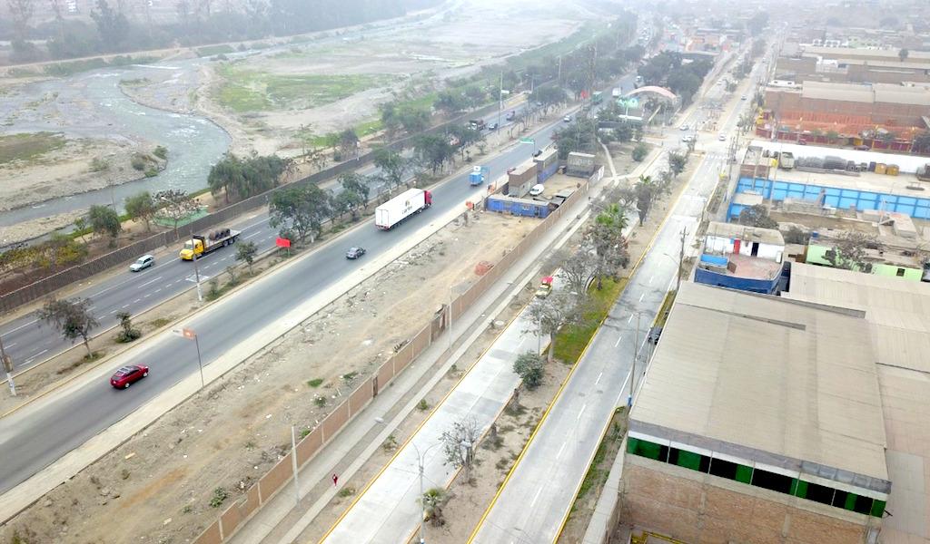 Vías afectadas en San Juan de Lurigancho y Chosica son reconstruidas con inversión de S/ 52.6 millones