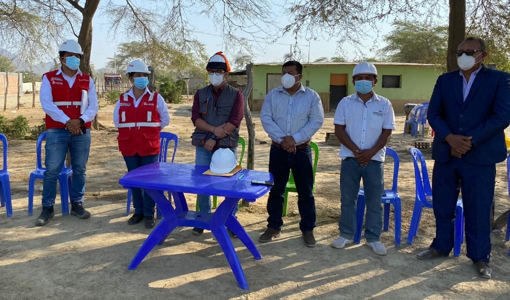 Lambayeque: Reconstrucción de camino vecinal unirá cuatros centros poblados en Olmos