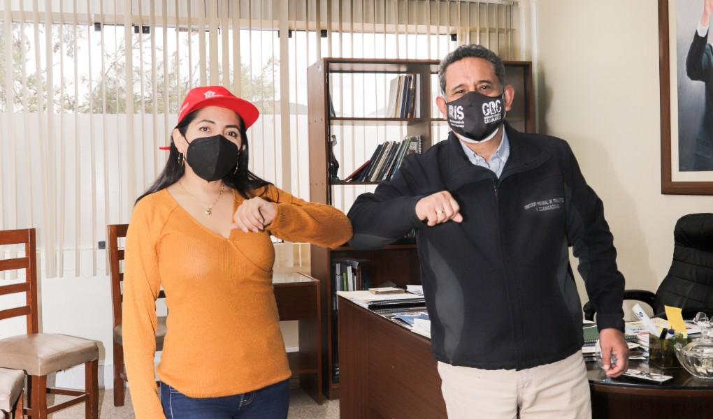 Directora Ejecutiva de la Autoridad para la Reconstrucción con Cambios se reunió con Gobernador de Cajamarca para evaluar avances en la región