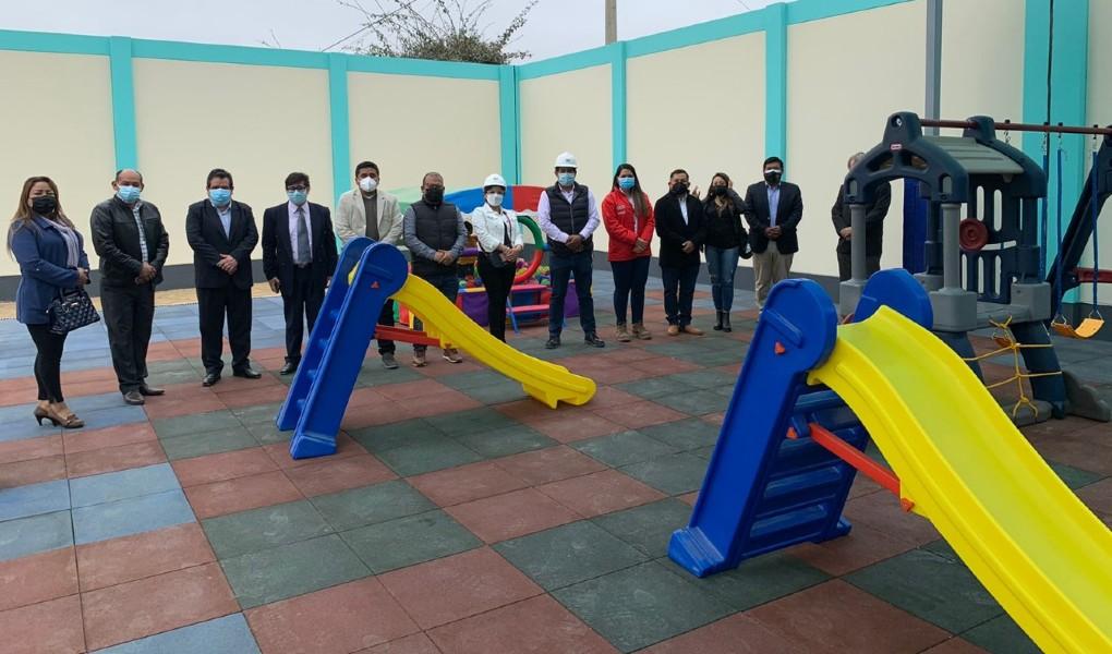 Inauguran institución educativa Nuestra Señora del Perpetuo Socorro reconstruida en Huanchaco, La Libertad