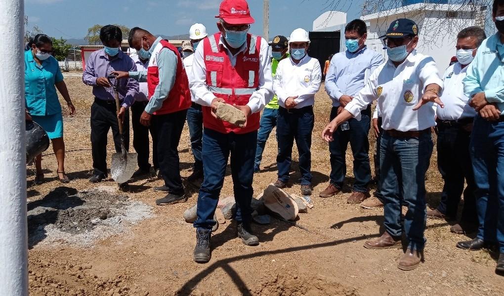 Tumbes: inician reconstrucción del Centro Educativo Fernández del distrito de Canoas de Punta Sal