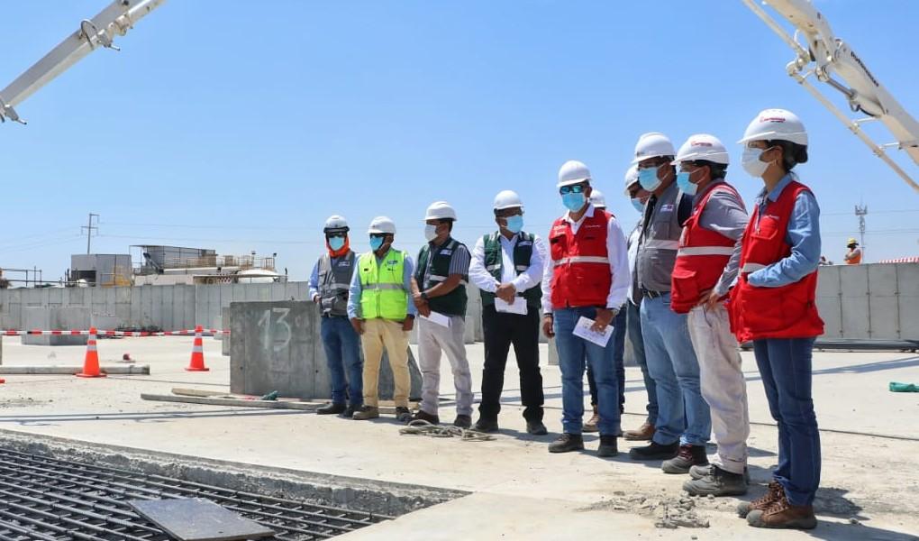 ARCC: Construcción del nuevo Hospital de Apoyo II de Sullana avanza aceleradamente