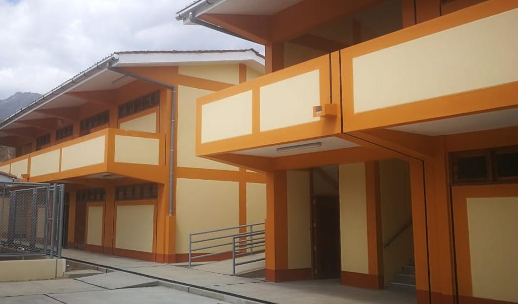 Autoridad para la Reconstrucción con Cambios inaugura dos colegios en Huarmaca, en Piura, con inversión de S/ 10.2 millones